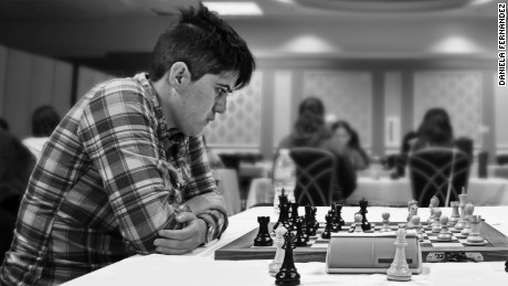 Former Pan American champion chess player Carla Heredia.