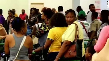 Jamaica prepares for Hurricane Matthew