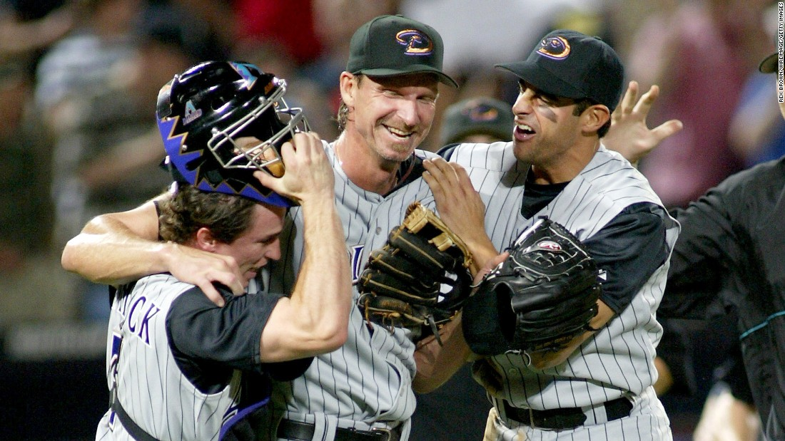 Though it isn't a good memory for Braves fans, those in attendance on May 18, 2004, witnessed baseball history, as 40-year-old Randy Johnson, then playing for the Arizona Diamondbacks, pitched a perfect game, striking out 13. Arizona won 2-0. Johnson is now in the Hall of Fame.