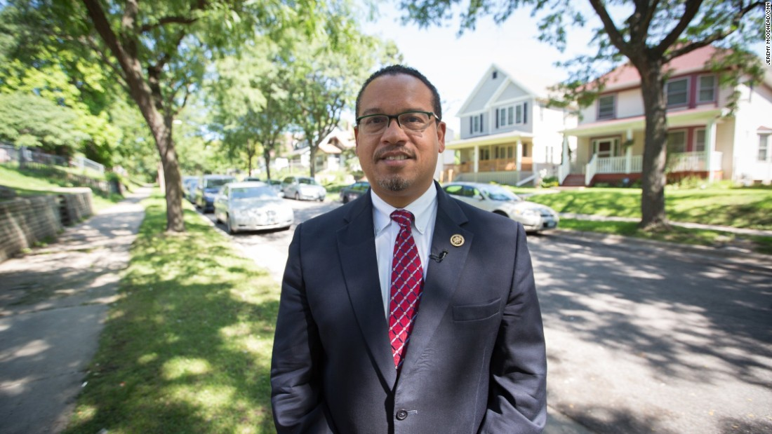 "Keith Ellison, Democratic congressman from Minnesota, first Muslim American elected to Congress. <br /><br />""I've had more than one mom say, 'My kids are asking me whether we're going to be deported, whether we're going to be safe.' Teenage girls asking whether they should wear the hijab if they want to... It's really having a negative impact, but it's also motivating people to run for office and to vote, and I think that you're going to see a historic turnout."""
