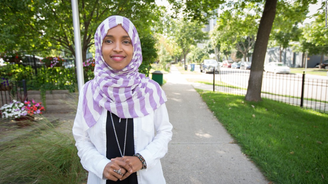 "Ilhan Omar, Somali American candidate for Minnesota State Representative. <br /><br />""When we first came to Minnesota, it was the start of the Somali community moving here and settling; it was beginning. I'm one of the first to see what that transition has looked like as more of us came here. We're a vibrant community, hard workers. We have educators; we have farmers; we have doctors; we're naturally nomads. We adapt pretty well in new settings."