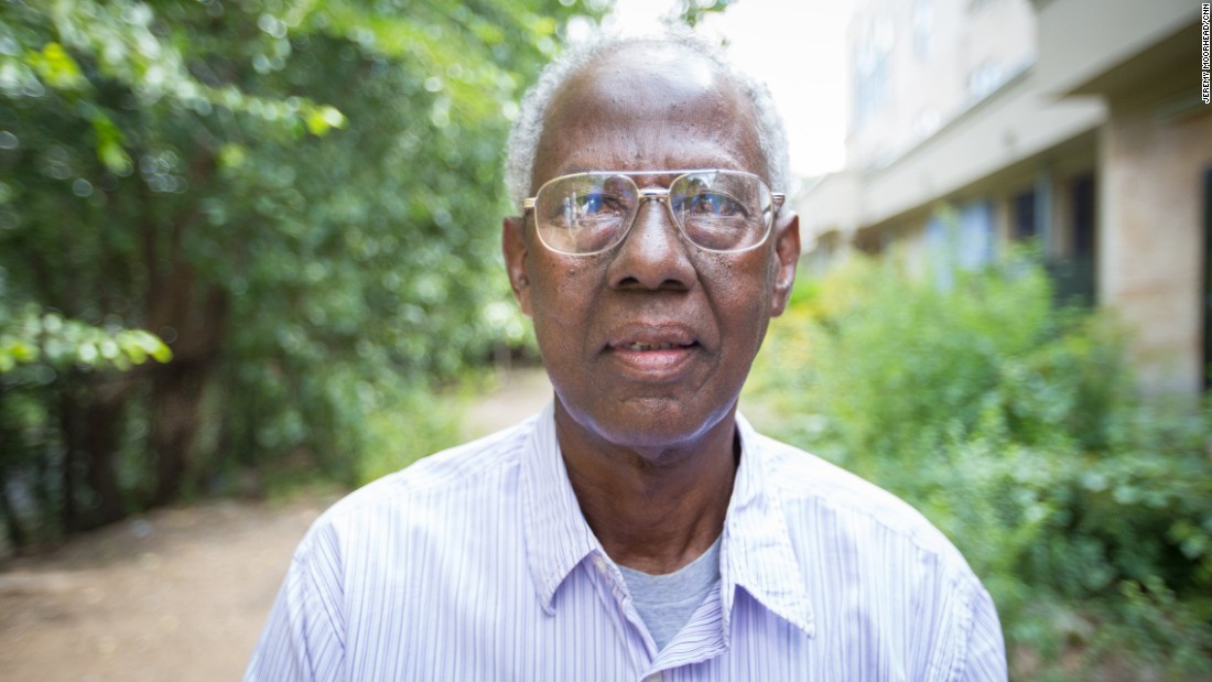 "Shirwa Hassan Jipril, born in Somalia, granted settlement status by the U.S. government in 2007, retired. Supporting Hillary Clinton.<br /> <br />""American people... They are mostly compassionate people. They are friendly people. They are welcoming people... Some people don't understand. They understand that Muslims are violent people. That they are killers. That they support terrorists. Some people believe that. Most Muslims are not as they are being seen by many people."""