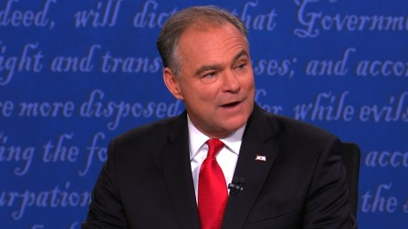 Tim Kaine attacks Trump's 'insult-driven' campaign