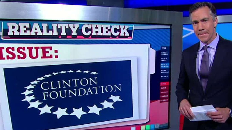 vice presidential debate reality check clinton foundation sciutto sot_00000521