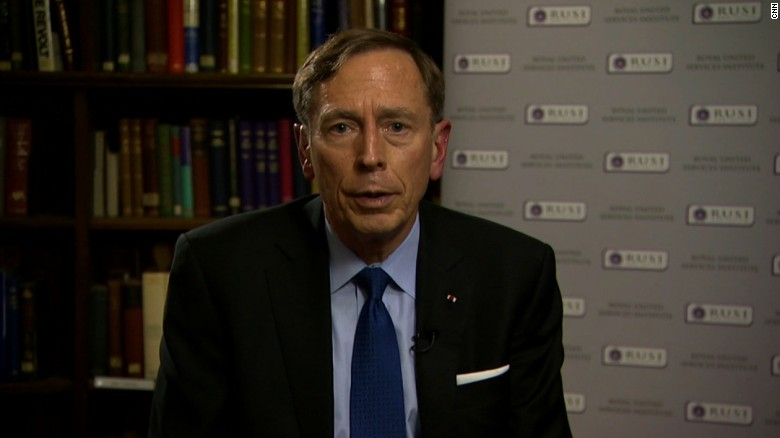 Petraeus: Straight-forward' to ground Assad air force
