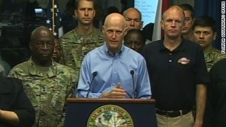 rick scott hurricane matthew kill people newday