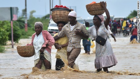 Haiti devastated by Hurricane Matthew