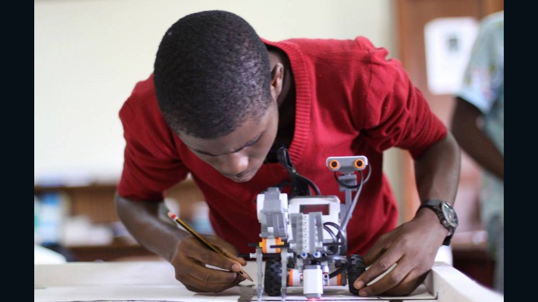 The Exposure Robotics Academy, which ran between 2012 and 2014, taught 113 boys and girls from 17 states around Nigeria how to code and build robots.