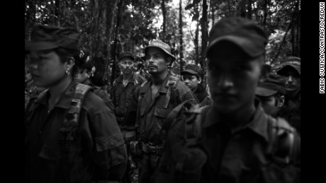 Inside a FARC camp