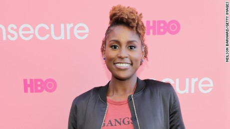 'Insecure' creator and actress Issa Rae attends HBO's 'Insecure' Block Party on September 25 in Brooklyn City.