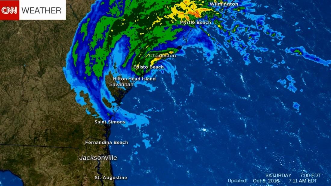 Hurricane Matthew creates 'record-breaking' flooding