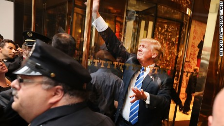 Spokesman: Donald Trump's team wants to hear protesters' concerns