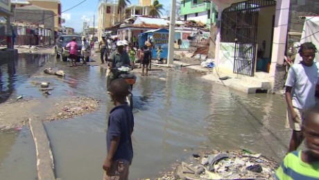 Cholera threatening Haiti in wake of Hurricane Matthew