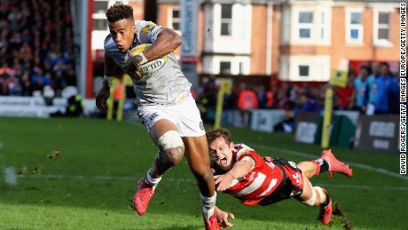 Anthony Watson will miss the autumn internationals after suffering a broken jaw.