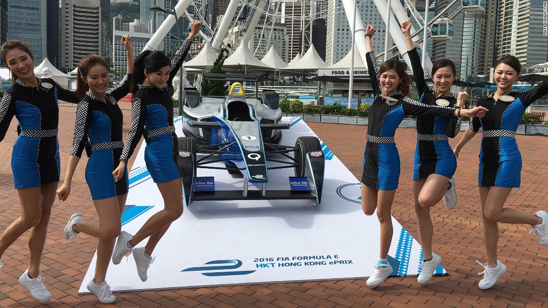 Hong Kong hosted its first Formula E race on Sunday.