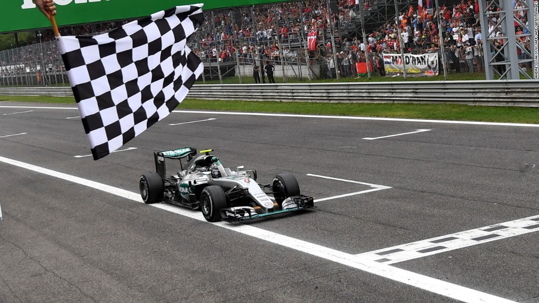 "Rosberg is on a roll once more as he storms <a href=""http://cnn.com/2016/09/04/sport/monza-grand-prix/"" target=""_blank"">to his first win at Monza</a> and cuts Hamilton's championship lead to just two points. The defending champion had delivered an electrifying lap to start on pole but a poor getaway cost him and he eventually finished second."