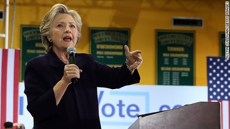 Early voting numbers promising for Clinton in battleground states