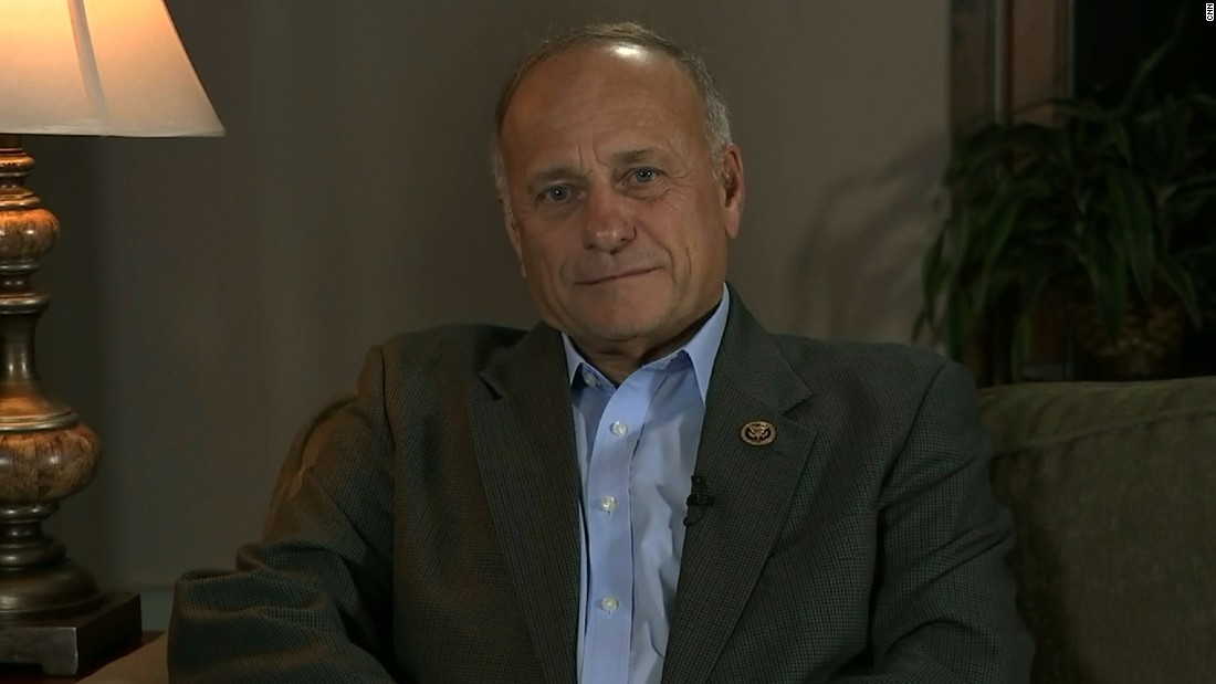 GOP Rep. Steve King on Trump: 'I'm sticking with him'