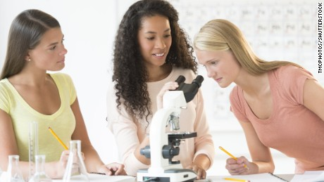The 'boys are better at math' mindset creates gender gap in sciences