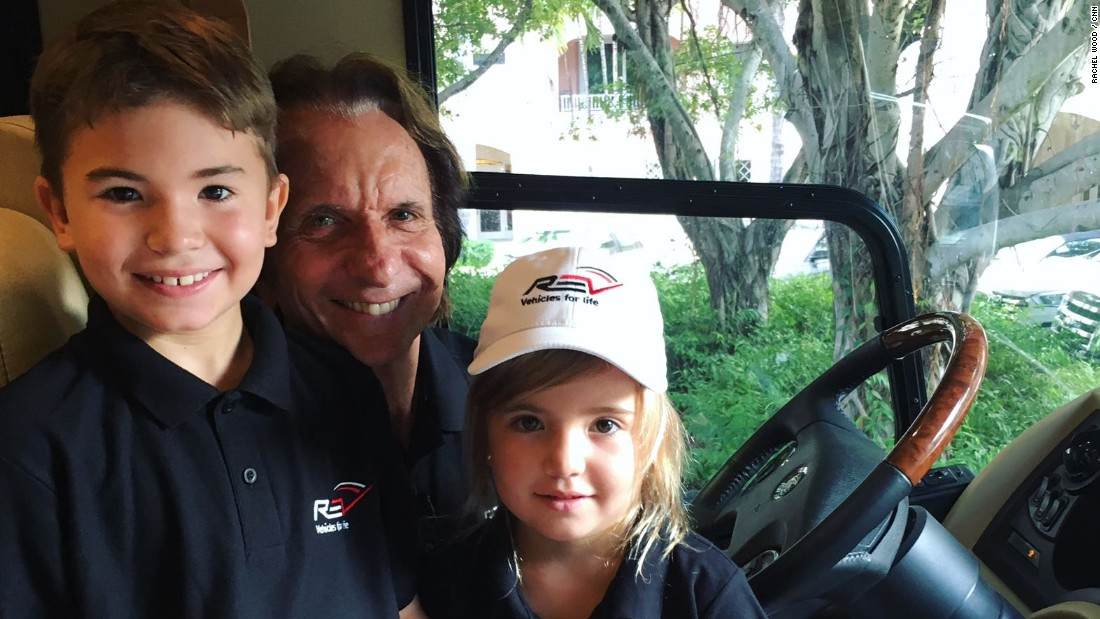 The Fittipaldis live in Miami but spend a good time on the road to supporting the nine-year-old's racing career. Daughter Vittoria comes along for the ride too.