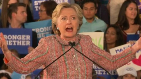 Clinton: We cannot put 'climate denier' in White House