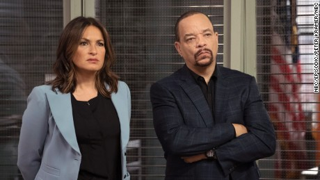 "Ice-T made his name as a rapper but now stars as Odafin Tutuola on ""Law & Order: SVU."""