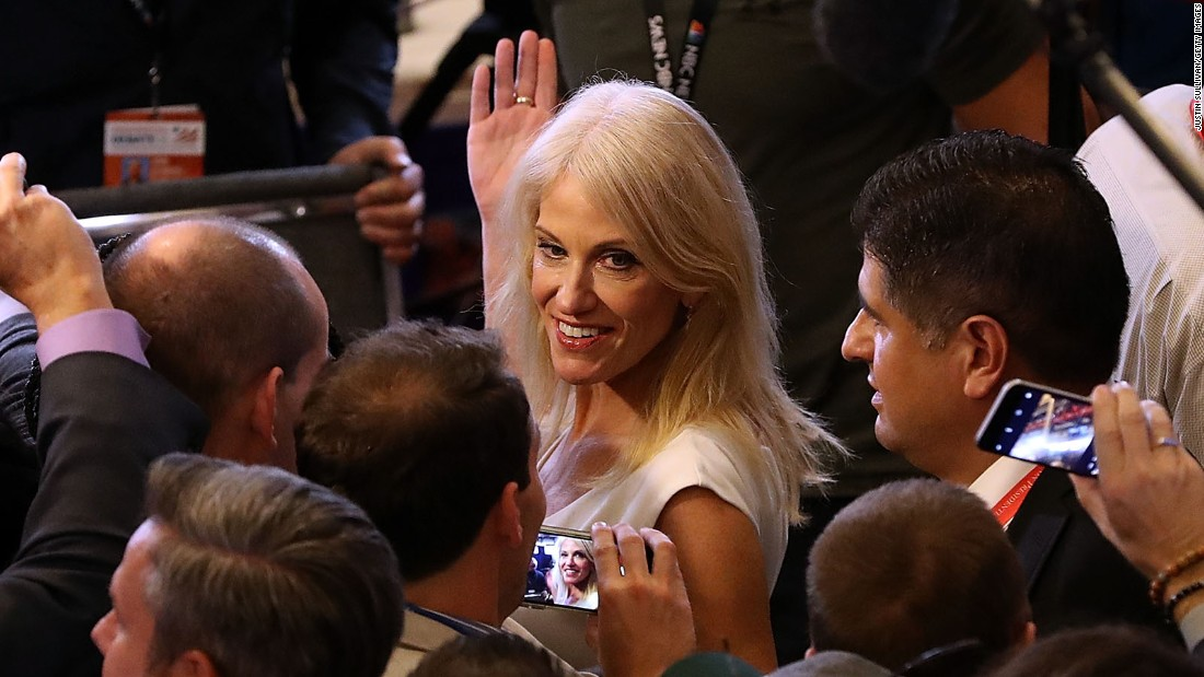 How the GOP's first female presidential campaign manager manages Donald Trump