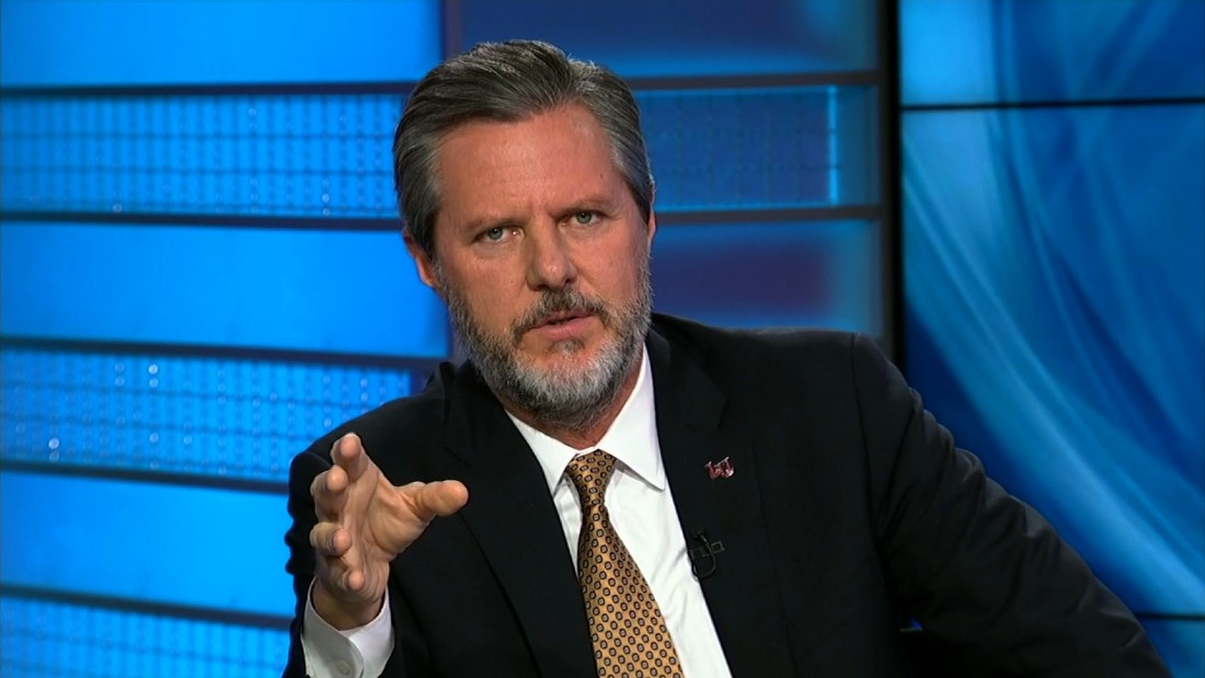 Some Liberty University students rebel against Falwell over Trump