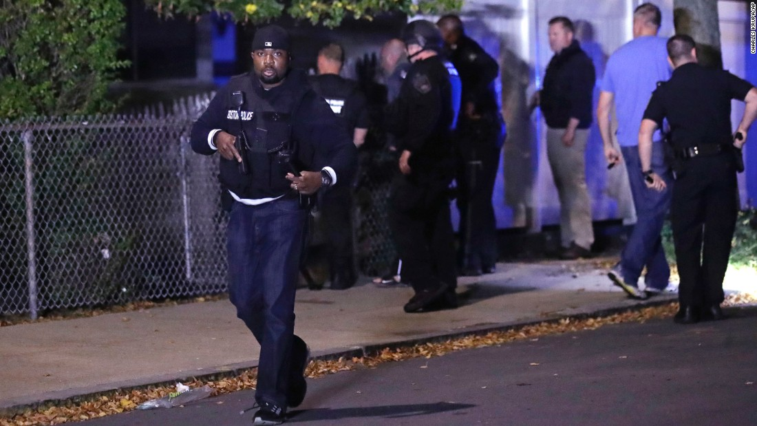 Suspect killed, 2 police officers critically injured in Boston shooting