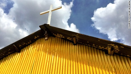 Why are Kenya's churches and mosques turning yellow?