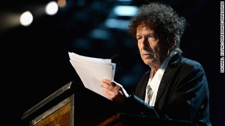 Bob Dylan wins 2016 Nobel Prize for Literature