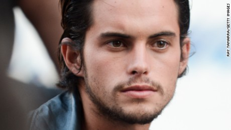 NEW YORK, NY - OCTOBER 14:  Professional skateboarder Dylan Rieder poses for photos at a DKNY photo shoot in Times Square on October 14, 2013 in New York City.  (Photo by Ray Tamarra/Getty Images)