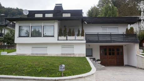 Melania's family still own a home in Sevnica, but locals say they are rarely seen there nowadays.