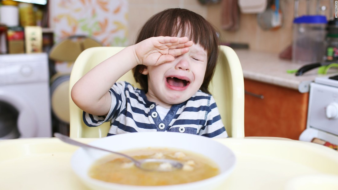 Is your toddler a fussy eater? It's probably not your fault, say scientists