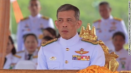 Crown Prince Maha Vajiralongkorn.