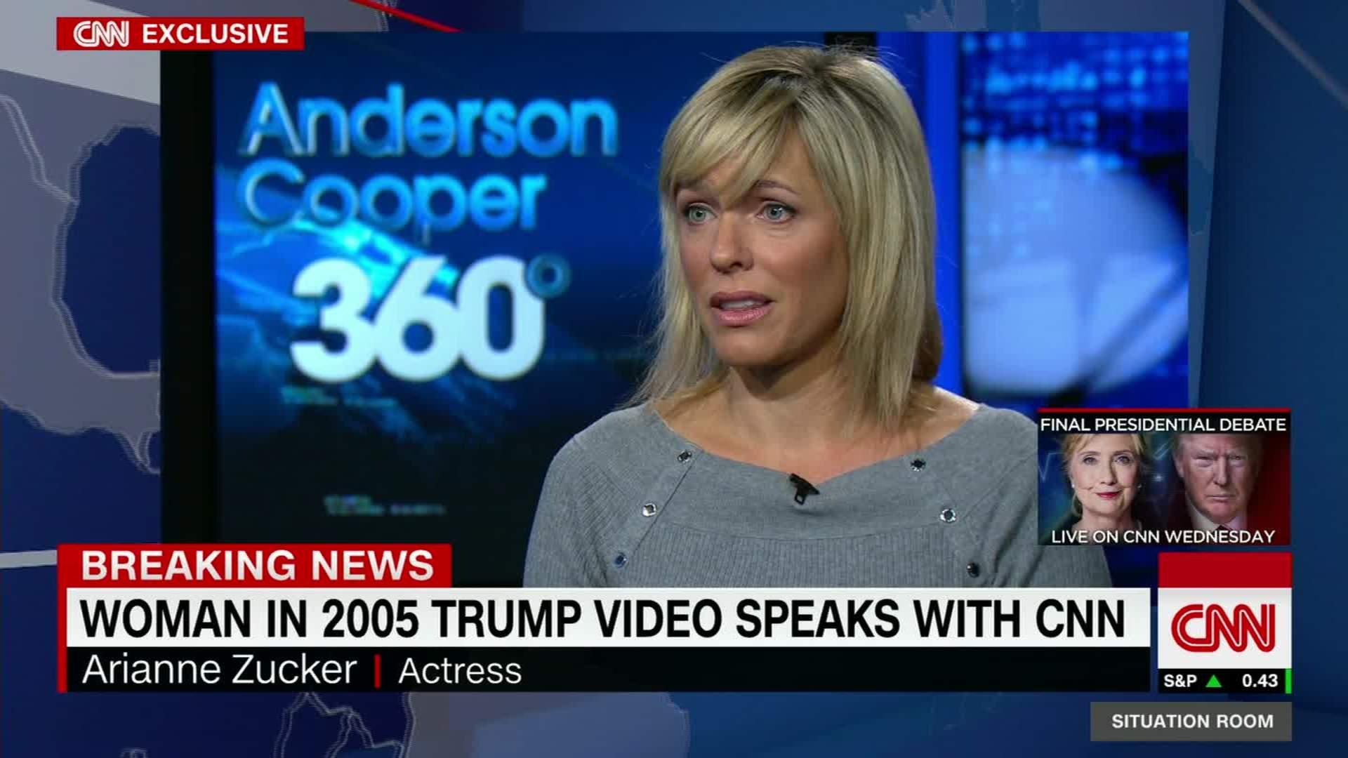 Woman From 2005 Trump Tape Talks To CNN   CNN Video