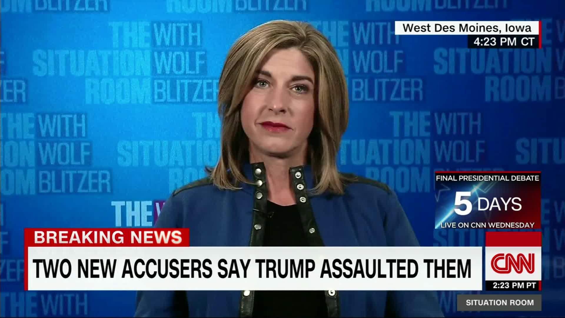 Female Trump Adviser: I Canu0027t Have Empathy For Accusers   CNN Video