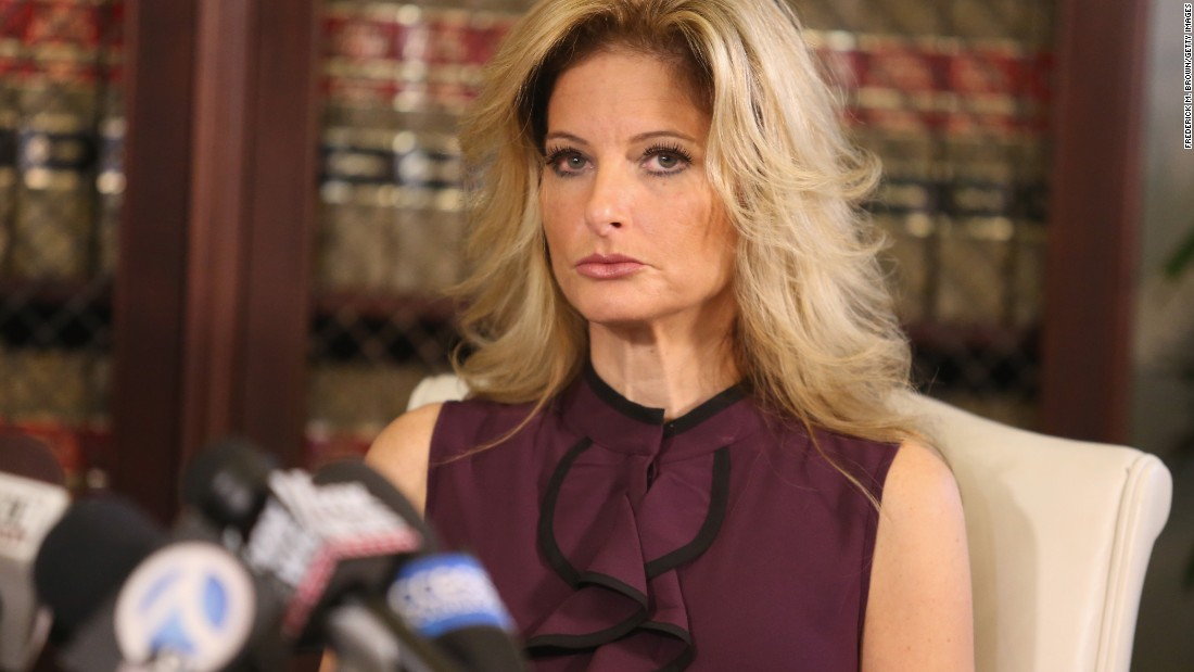"Summer Zervos -- a former contestant on Donald Trump's reality television show ""The Apprentice"" -- speaks at a news conference in Los Angeles on Friday, October 14. Zervos <a href=""http://www.cnn.com/2016/10/14/politics/donald-trump-women-accuser/index.html"" target=""_blank"">accused the Republican presidential nominee</a> of sexual assault, saying Trump grabbed her breast and kissed her aggressively in 2007."