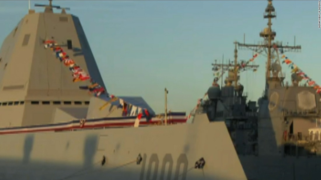 US Navy's stealth destroyer joins the fleet