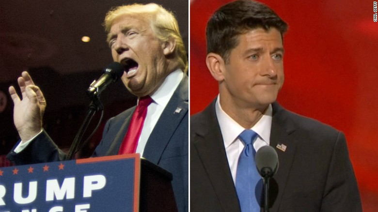 Paul Ryan's rocky relationship with Trump
