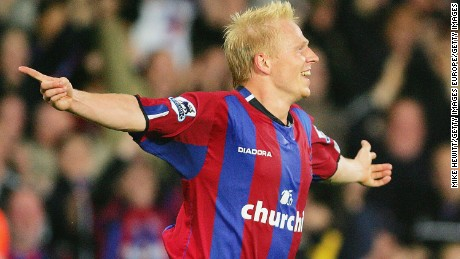 Aki Riihilahti played in the English Premier League with Crystal Palace.
