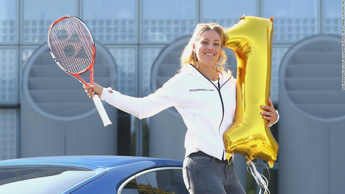 She is indeed the world No. 1. Germany's Angelique Kerber took over as No. 1 from Serena Williams in September.