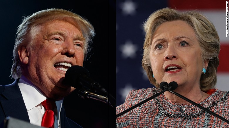 New CNN poll: Clinton still ahead of Trump nationally