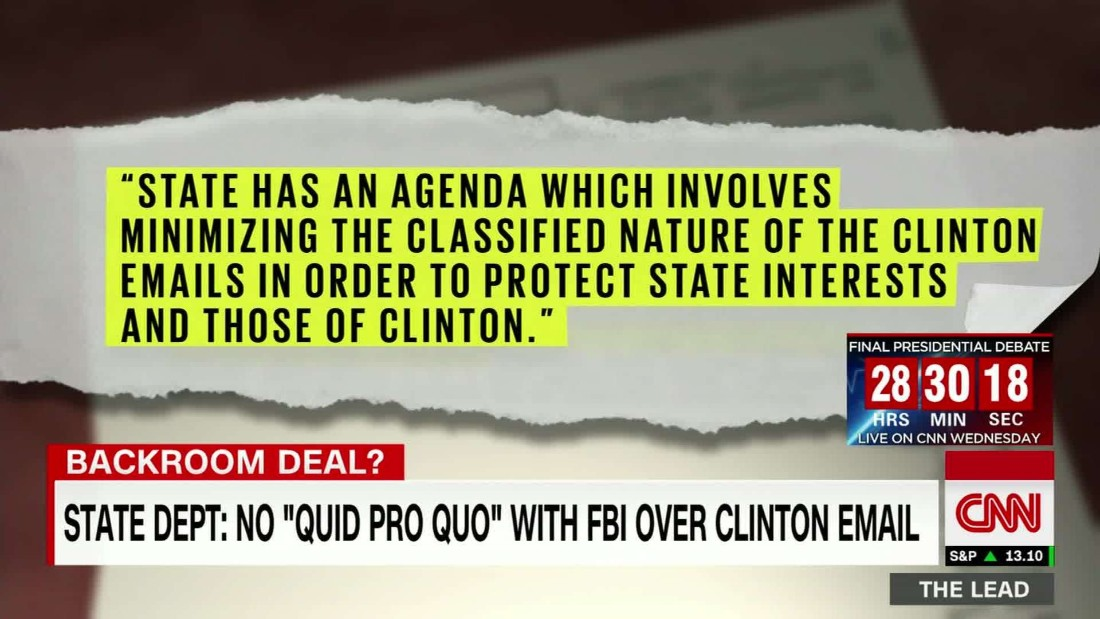 Reality Check: Did the Clintons corrupt an FBI investigation?