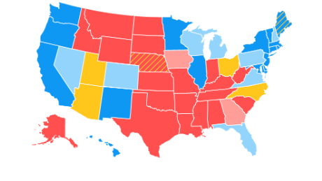 Road to 270: CNN's latest electoral college map