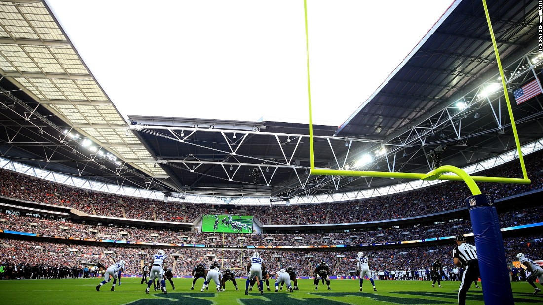 In October 2016, Jacksonville Jaguars beat Indianapolis Colts 30-27 at Wembley. After the Giants-Rams game at Twickenham, the series returns to English soccer's home ground in the final game between Washington Redskins and Cincinnati Bengals on October 30.