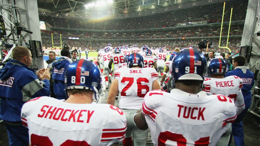 Regular-season NFL games have been a fixture in London since the Giants played the Miami Dolphins at Wembley Stadium in October 2007.