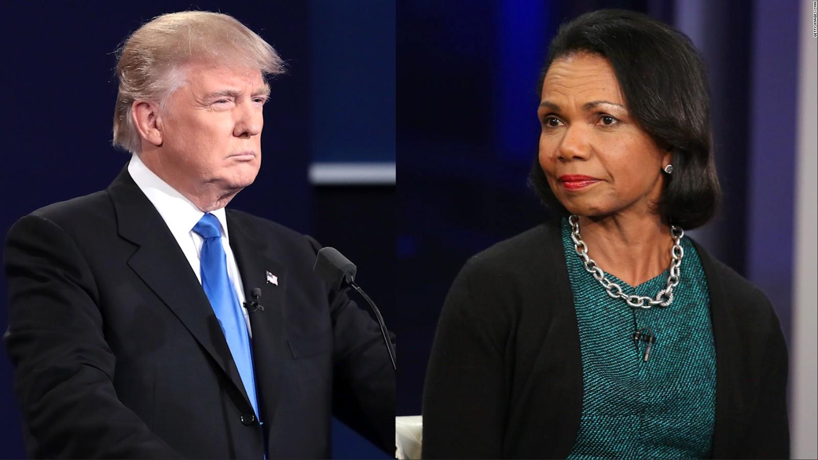 trump meets with condoleezza rice cnnpolitics