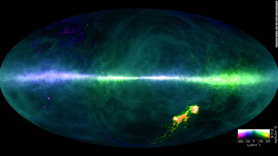 Milky Way Map Astronomers Unveil New Galaxy Chart CNN - Astronomical map of galaxies in the us