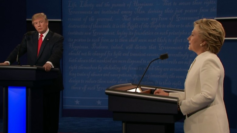Roe v. Wade divides candidates at the final debate